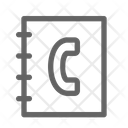 Contact Address Call Icon