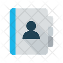 Contact Address Book Addresses Icon