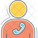 Mcontact Contact Telephone Icon