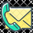 Contact Handset Telephone Icon
