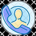 Contact Handset Phone Icon