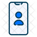 Contact Phone Communication Icon