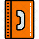 Contact Book Phone Book Call List Icon