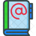 Book Contact Email Icon