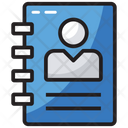 Directory Contact Book Business Contacts Icon