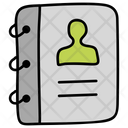 Contact Book Phone Directory Address Book Icon