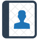 Notepad Notebook Contact List Icon