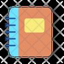 Contant Folder Contact Book Diary Icon