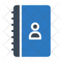 Directory Contacts Book Icon