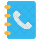 Contact List Book Icon
