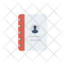 Directory Contact Book Archive Icon