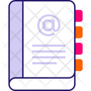 E Mail Contact Phone Book Address Icon