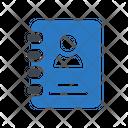 Directory Contactbook Library Icon