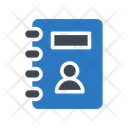 Directory Contactbook Records Icon