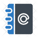 Contactbook Address Library Icon