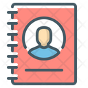 Contact List Contact Log Contact Book Icon