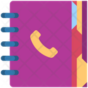 Contact Book Address Book Directory Icon