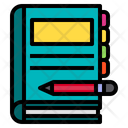 Book Notebook Education Icon