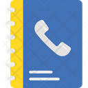 Address Book Biography Contact Book Icon
