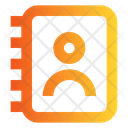 Contact Book Directory Library Icon