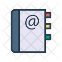 Contacts Book Message Icon