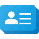Contact Info Stack Icon