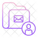 Tact Folder User Contact Folder User Contact Folder Icon