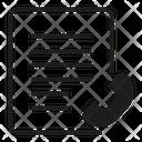 Phone Document Communication Icon