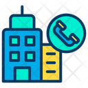 Contact Building Office Icon