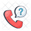Telephone Call Sign Contact Us Icon