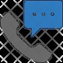 Seo Call Center Message Icon