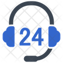 Support Headphone Customer Service Icon