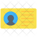 Contacts Id Proof Id Card Icon