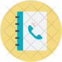 Contacts Diary Phone Icon