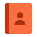Contacts Book Diary Icon