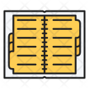 Contacts Diary Journal Icon