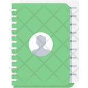 Contacts Book Phone Icon