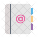 Email Contacts Book Icon