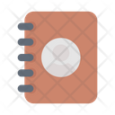 Contacts Diary Book Icon