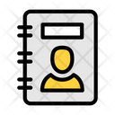 Contacts Book Directory Records Icon