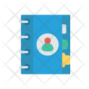 Contacts Book Notes Icon