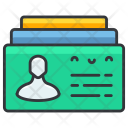 Contacts card Icon