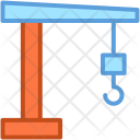 Container Lifter Crane Icon
