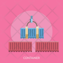 Container Delivery Cargo Icon