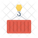 Container Hook Lifter Icon