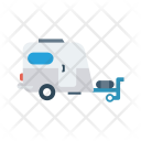 Container Vehicle Travel Icon