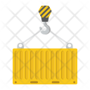 Container Logistic Delivery Icon