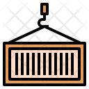 Container Shipping Logistics Icon