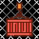 Container Cargo Crane Hook Icon