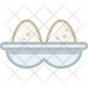 Container Eggs Food Icon